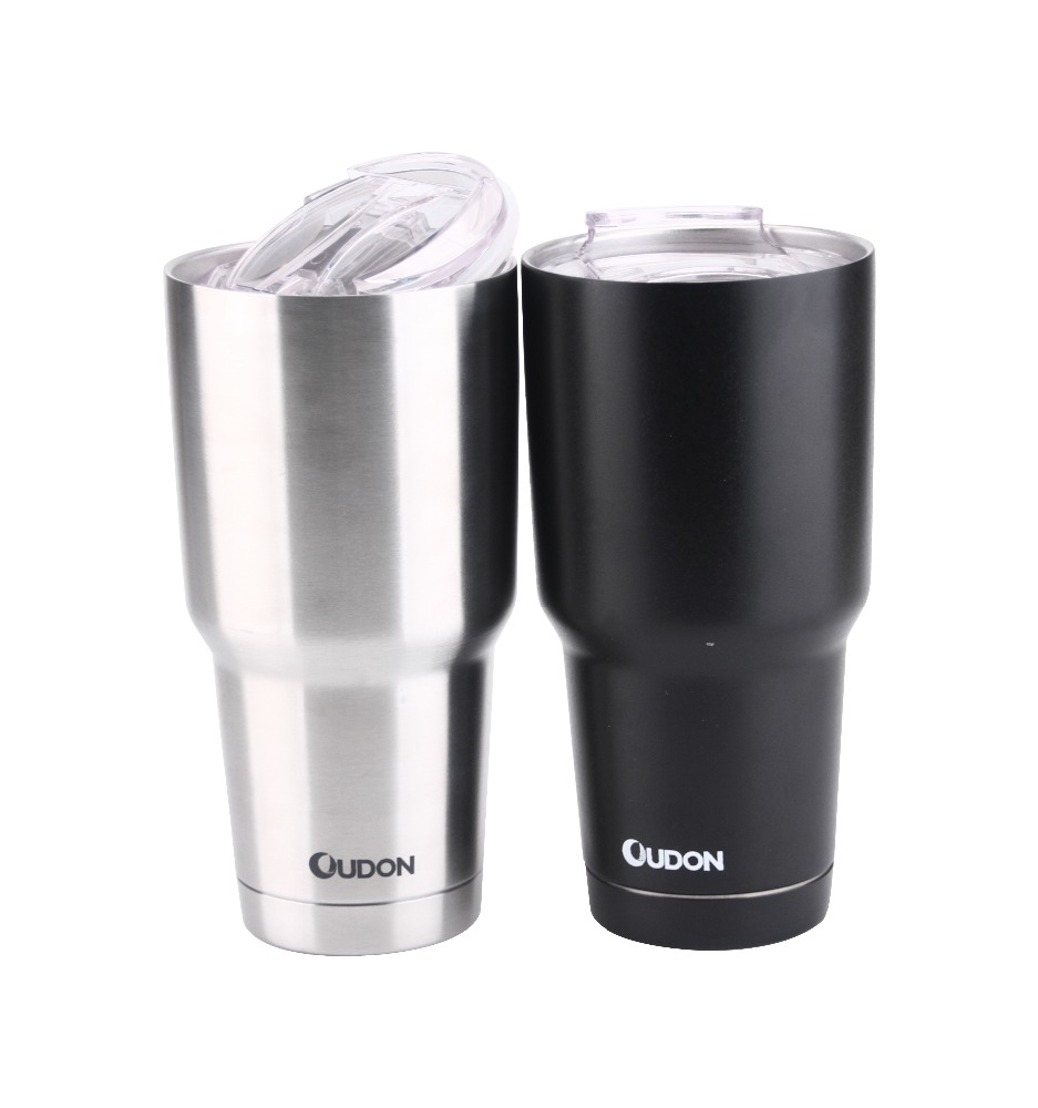 double wall 30 oz stainless steel vacuum insulated tumbler