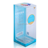 chinese hard plastic make up box packaging with PVC