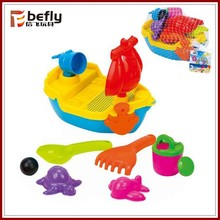 Summer funny plastic sand tool toy beach playset