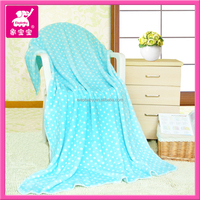 high quanlity snuggie mink cotton cashmere baby blanket