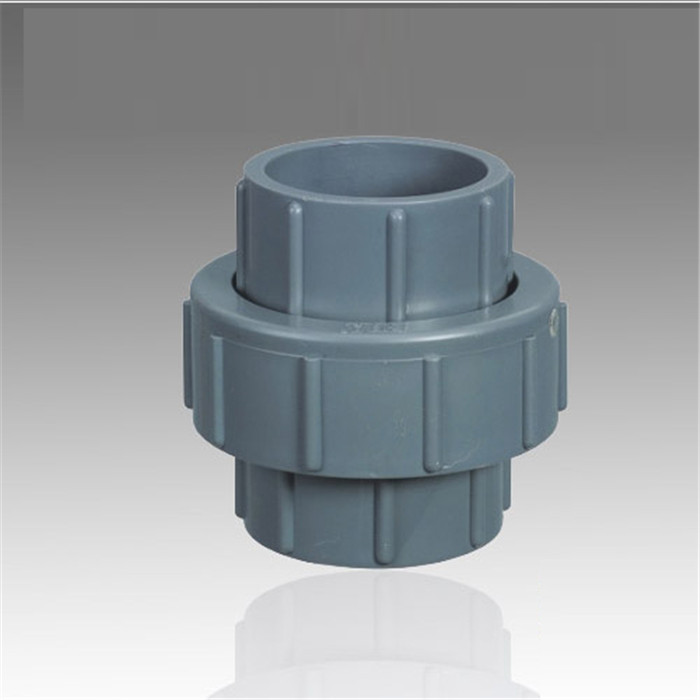 pvc union with Socket DIN BS JIS ANSI or Thread BSPT NPT for PVC pipe