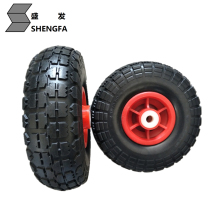 High quality flat free wheel 3.50-4