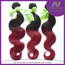 6a brazilian human hair extention top quality full fix hair