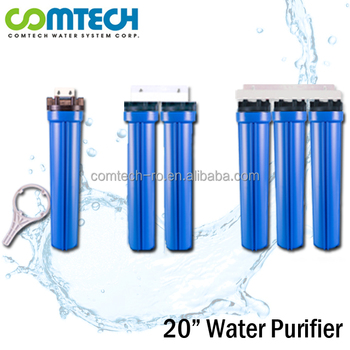 20 Inch Water Filter System 1-3 Stages