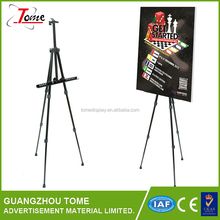 Aluminum Easel Lightweight Display Tripod Menu Poster Picture Holder Stand Folding Light Weight Easel with Free Carry Case