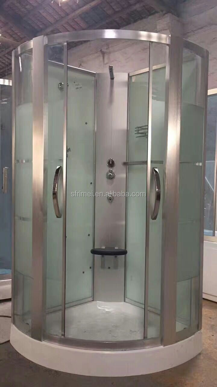 K-7081B Hotel Indoor Room Steam Shower Tub Combo Shower Bath Glass