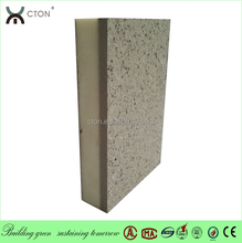 External thermal insulation and finishing system(EIFS system) with real stone painting sandwich panel