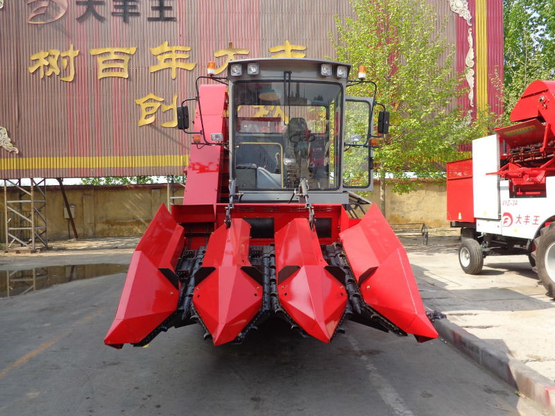 4YZ-3A corn mini combine harvester