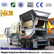 Marble limestone Quarry Stone mobile crushing plant for sale Australia