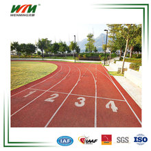 IAAF Approved Sandwich Rubber Running Track Synthetic Athletic Track