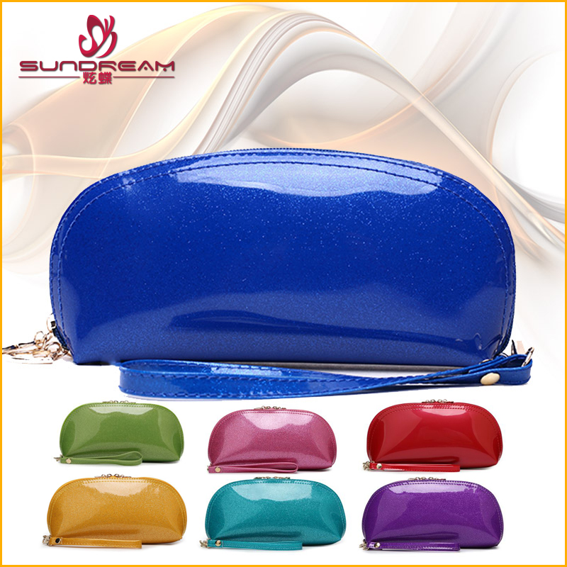 China suppliers Custom makeup travel promotional toiletry bag fashion genuine leather Cosmetic Bag waterproof makeup brushes bag