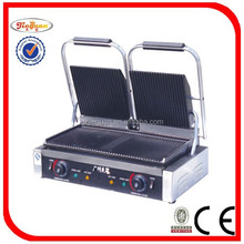 Electric contact grill / panini grill with CE certificate