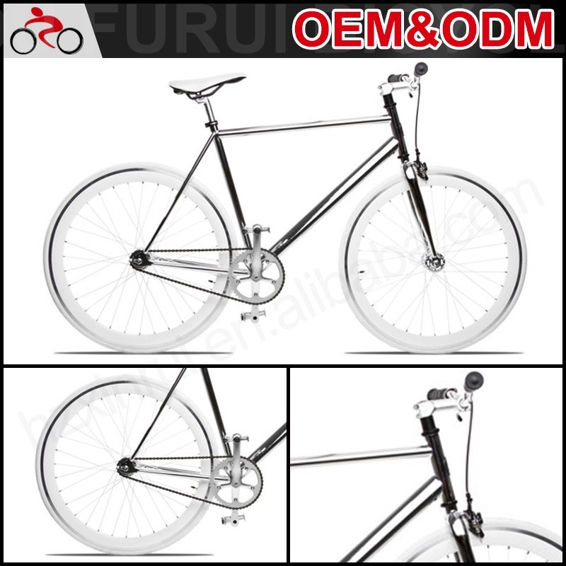 Latest steel frame carbon fixed gear bicycle from China