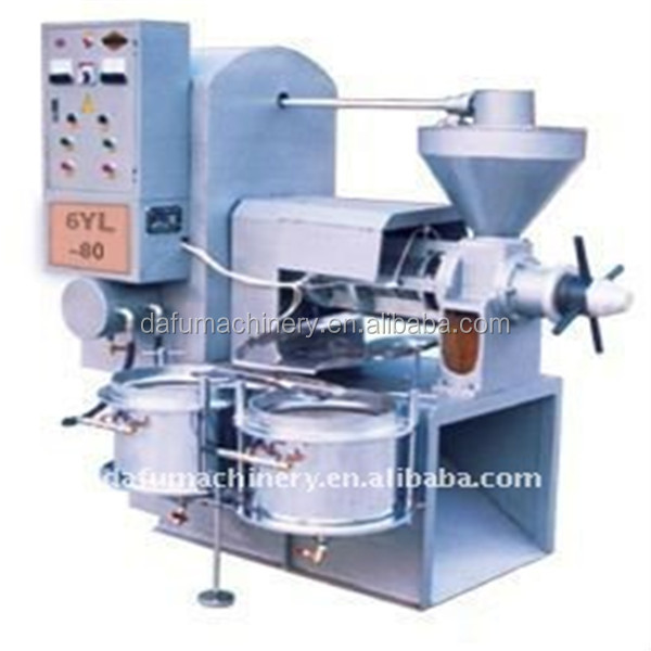crude eduble oil pressing machine with hot and cool system