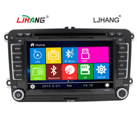 Best stable CAR DVD Radio Newest for Volkswagen VW Passat b6 Jetta GILF 5 Tiguan - double din GPS ipod swc RDS FM AM DVD USD