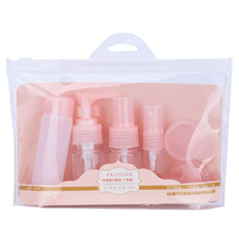 High quality empty cosmetic bottle set pump pressure spray bottle