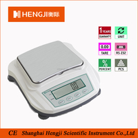 OEM 0.1g 4000g load cell LCD display 1g digital senstive weighing scale