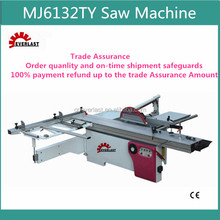 MJ6132TY High Quality CE Woodworking Precision Table Panel Saw Machine/ Panel Cutting Saw Machine
