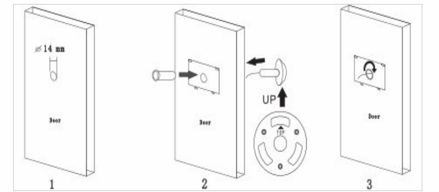 door bell ring with camera for home or apartment buy