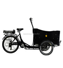 CE manufacture three wheel adult land rover electric bicycle for cargo