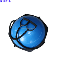 Bosu Ball With Wooden Base Balance