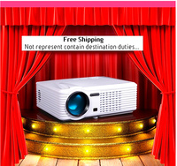 2016 newest best hot sell home use theater, 2500 lumens mini projector