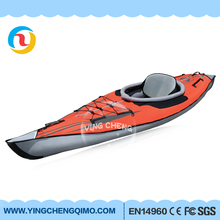 ODM / OEM Inflatable boat portable PVC kayak boat for rafting fishing canoe river Lake