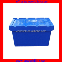 65L Attach Lid Stackable Plastic Waterproof Containers