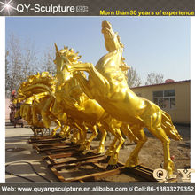 Bronze Metal Life Size Horse Sculpture