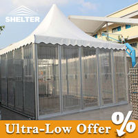 Strong windproof and waterproof gazebo