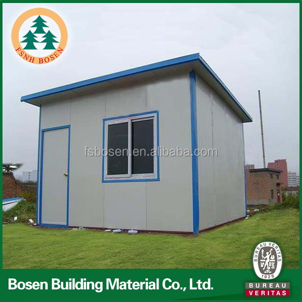 Edificio 1 camera da letto prefabbricata casa mobile for Case a buon mercato 3 camere da letto