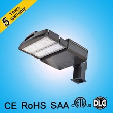 CE ROHS UL DLC ETL approved led shoebox 150w 200w 100w 50w LED street light with 5 years warranty