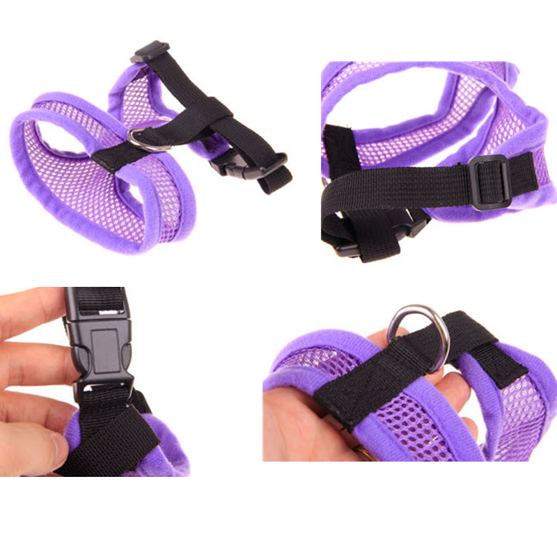 Best Quality Cheap New Design Service Pink Pet Dog Harness