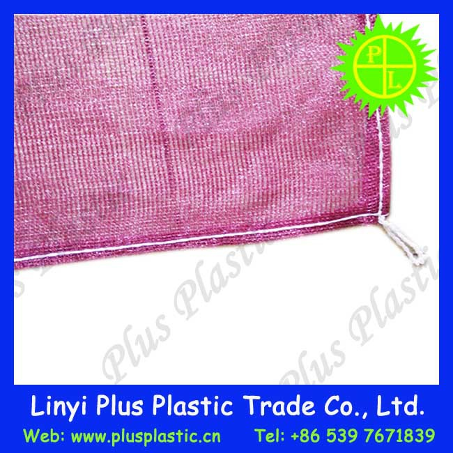 hot sale 5kg~25kg capacity pe mesh bag for onion,potato,garlic,fruit and vegetables