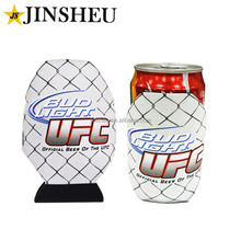 custom cheap full printed neoprene single can cooler