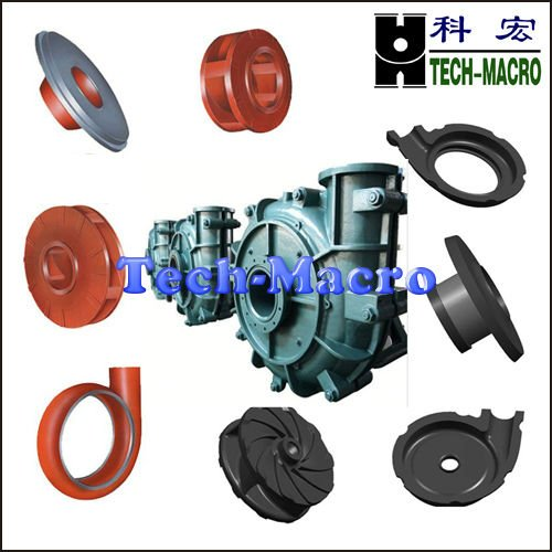 High quality centrifugal slurry pump wear parts impeller ,shaft,volute liner