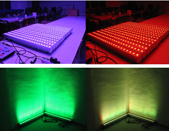 3w24pcs led stage bar wall washer light