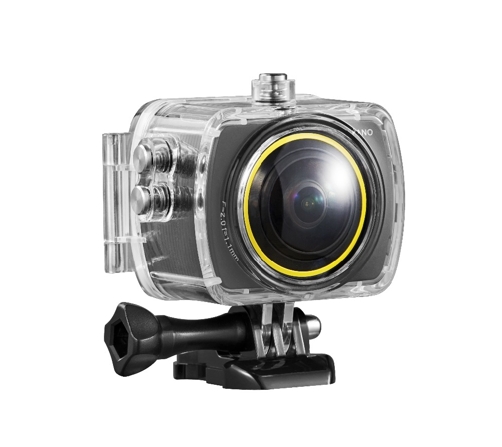 2017 Latest Camera with Bird View System 3D 360 Degree Action Camera