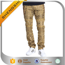 Direct wholesale men used branded custom jeans manufacturers
