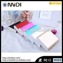 High capacity fashion power bank 10400mah for coffee shop