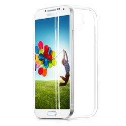 Transparent Clear Plastic Cell Phone Case For Samsung Galaxy S4 Mini