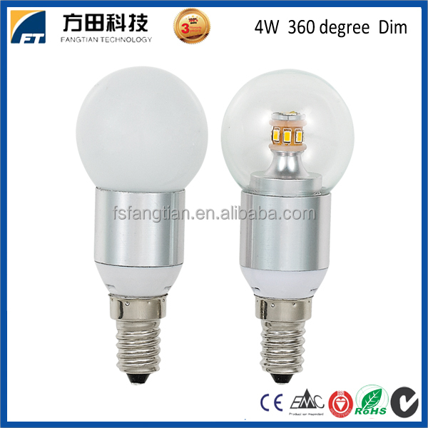 2016 new design 360 degree 3W 5W E14 LED <strong>Bulb</strong>, LED E14 <strong>bulb</strong>, LED <strong>Bulb</strong> E14 Dimmable