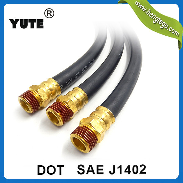 sae j1402 1/2 inch black air brake hose used truck brake systems