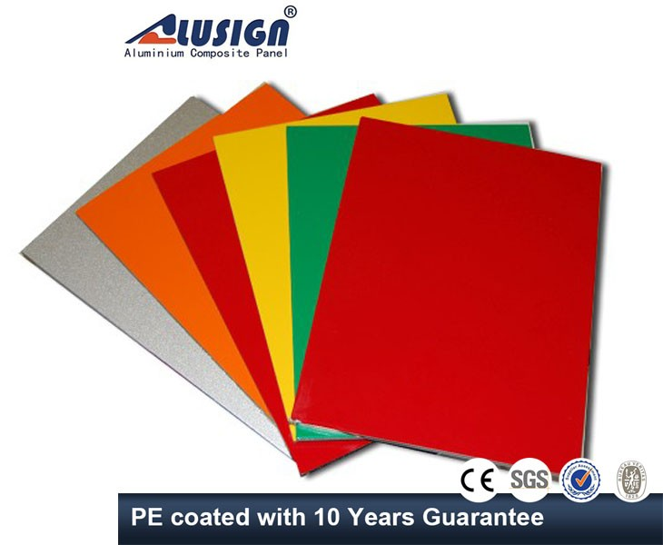 Alusign factory price composite panel acp aluminium bond