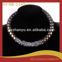 fashion diamond inlaid chain collar choker necklace for women