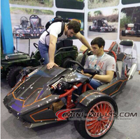 Reverse Trike / ZTR Trike Roadster / 250cc Roadster for Adults