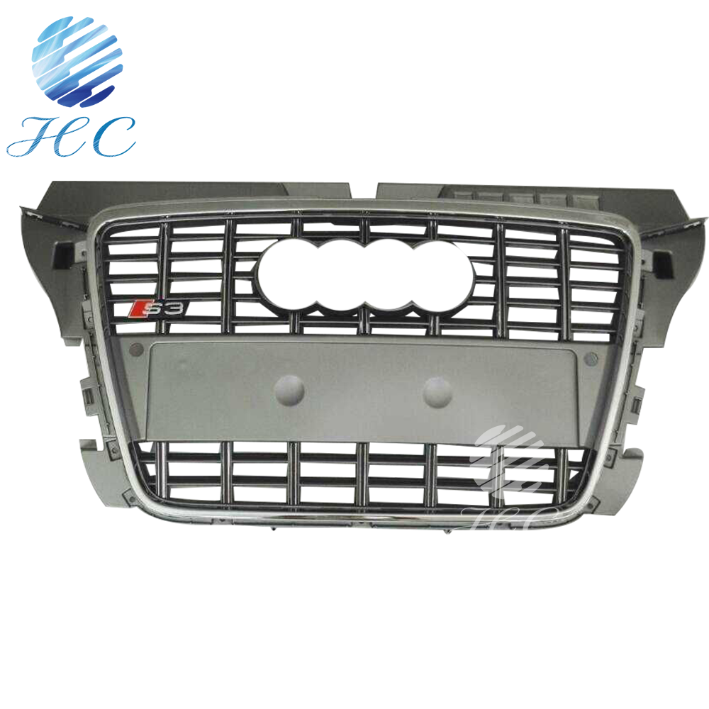 For audi A3 8P front grille with ABS material 08-12