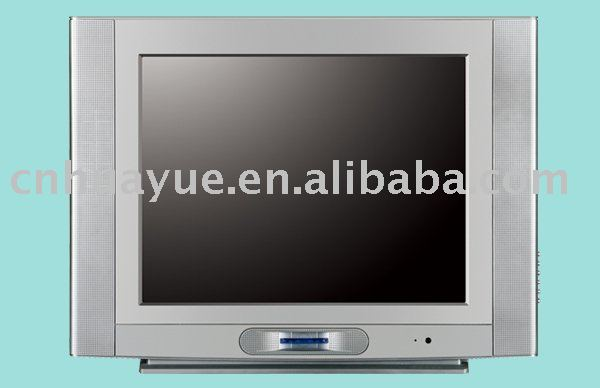 Color CRT TV Pure Flat Normal Flat 21inch