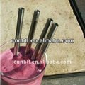 Stainless steel bent straw