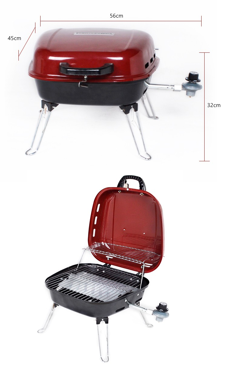 alibaba china market stainless steel bbq grill smoker gas